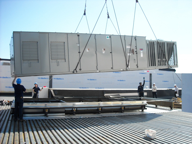Commercial Air conditioning services, rooftop air conditioning systems
